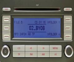 VW RCD-300 Radio Code Free