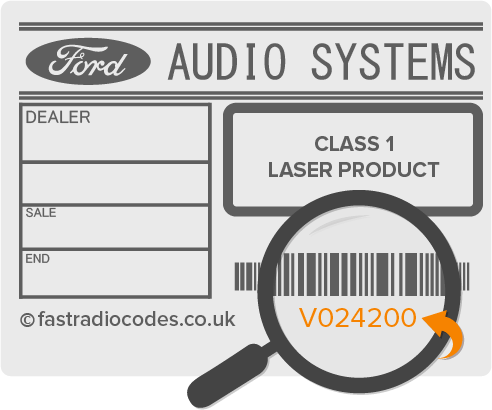 Ford V Series Serial Number