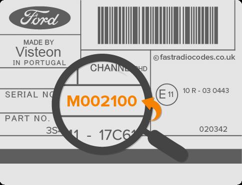 Ford M Radiol Code Free Search Generator